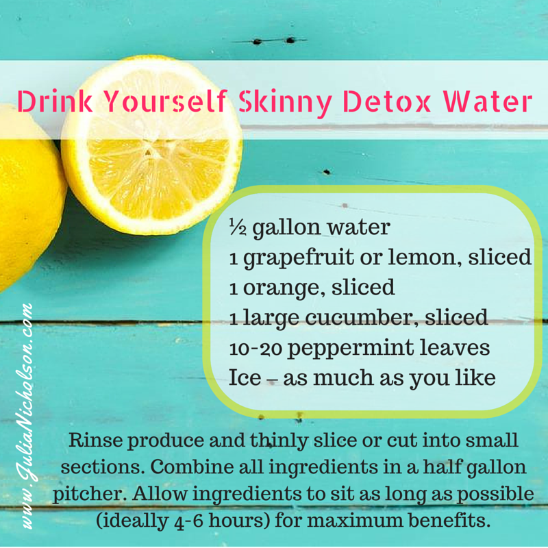 Image result for detox to add to the water pic
