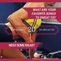 20 Songs to Sweat To!
