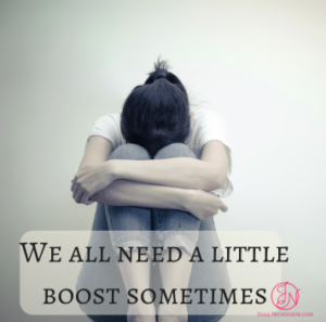We all need a little boost